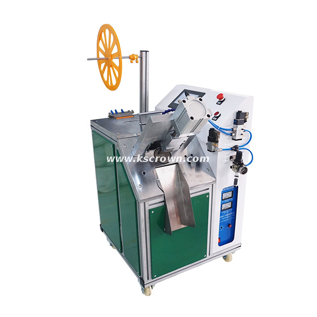 Ultrasonic Fabric Ribbon Webbing Tape Cutting Machine