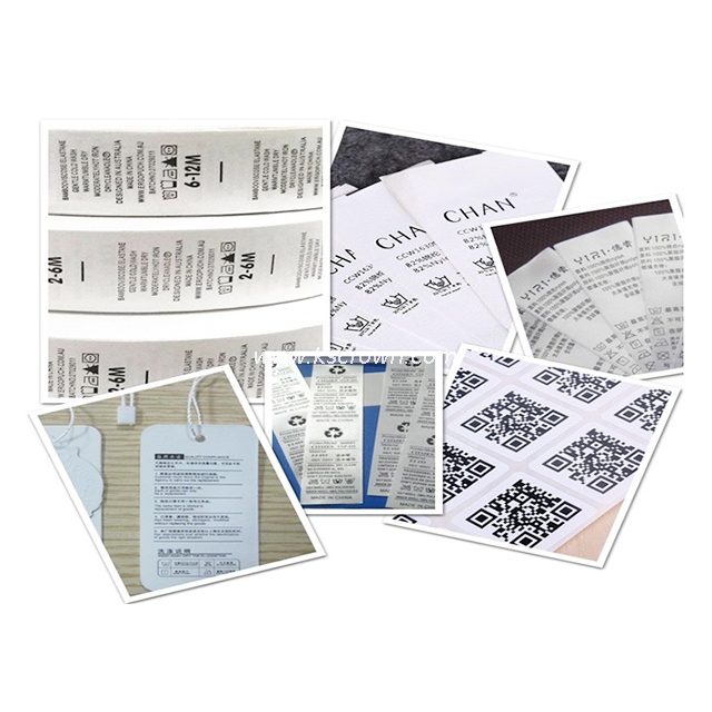 Hot and Cold Knife Care Label Cutting Stacking Machine