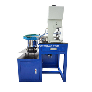 Semi-automatic Loose Terminal Crimping Machine With Vibration Plate Feeding