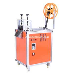 Hook & Loop Tape Roll Cutting Machine
