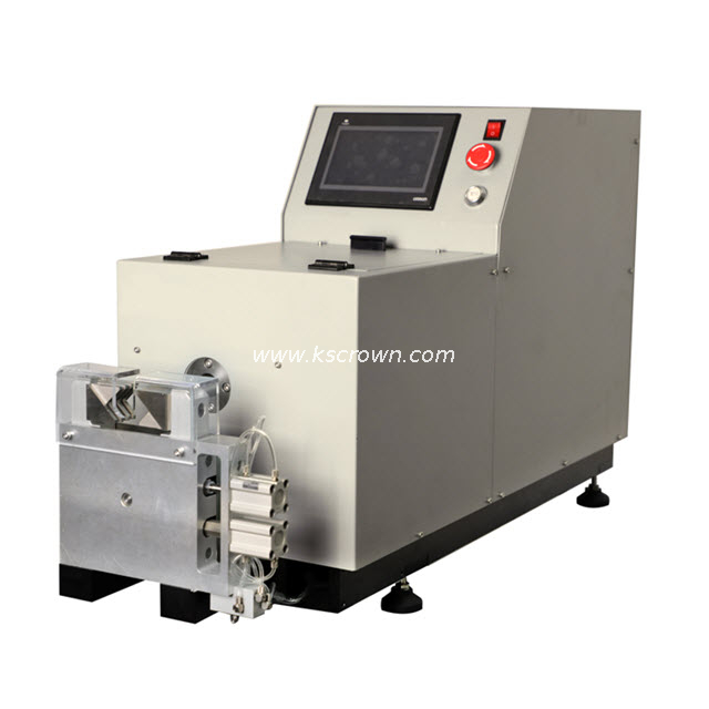 Cutting Wire Shieldings and Braidings Machine