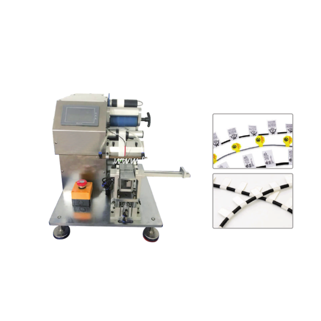 Wire and Cable Labeling Machine