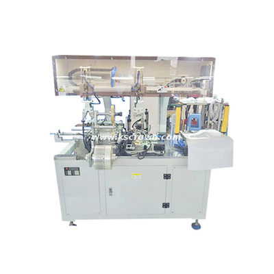 Cable Coiling and PP Band Packing Machine