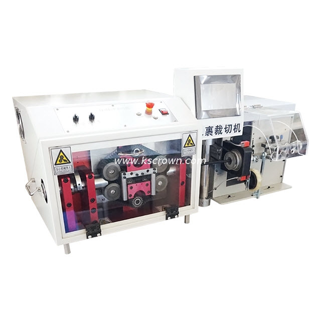 Cable/Tube Tape Wrapping and Cutting Machine