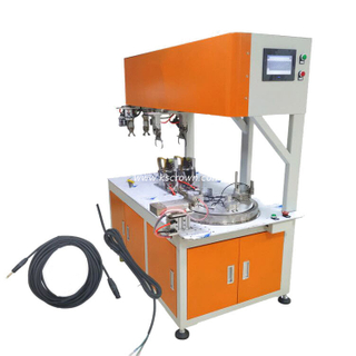 Automatic Wire Coiling and Bundling Machine for 8 Shape and Round Shape