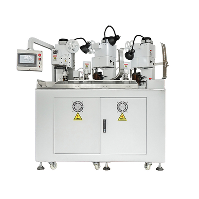 Three Ends Two Wire Combined Connector Crimping Machine