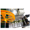 Ultrasonic Ribbon Fabric Webbing Cutting Machine with Hole Puncher