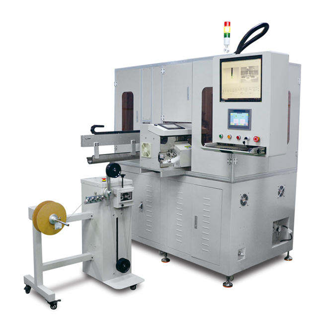Fully Automatic Coax Cable IPEX Terminal Assembly Machine