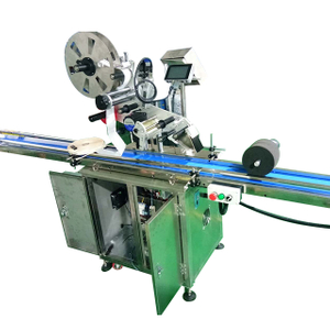 Sticker Adhesive Labeling Machine for Flat Surface