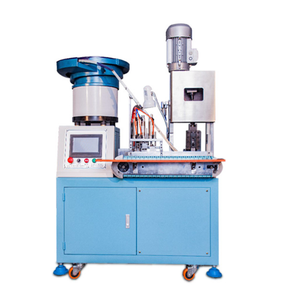 Automatic Chinese Standard Two-pin Plug Riveting Machine