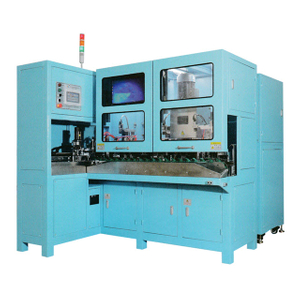 Fully-auto France Power Cord Plugs Making Machine